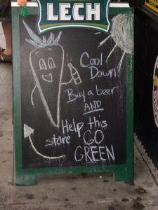 go green on bedford ave