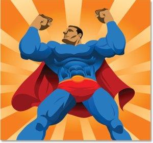 morning super hero