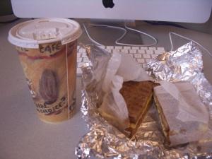 post-run breakfast