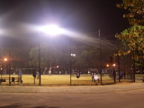 baseball in mccarren park