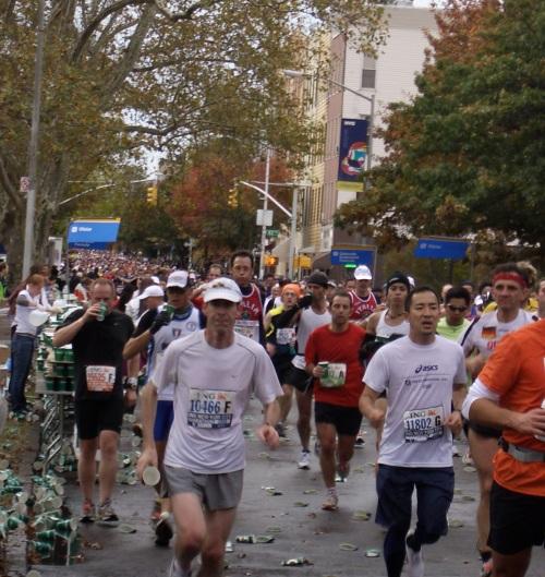 nyc marathon in brooklyn