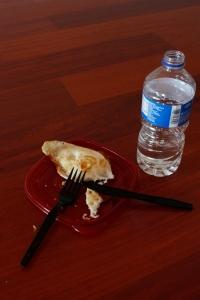 breakfast on the floor