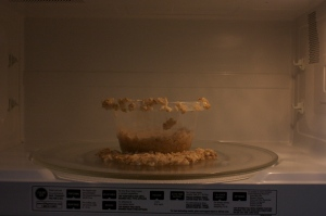 exploding oatmeal