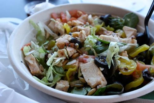 quiznos salad